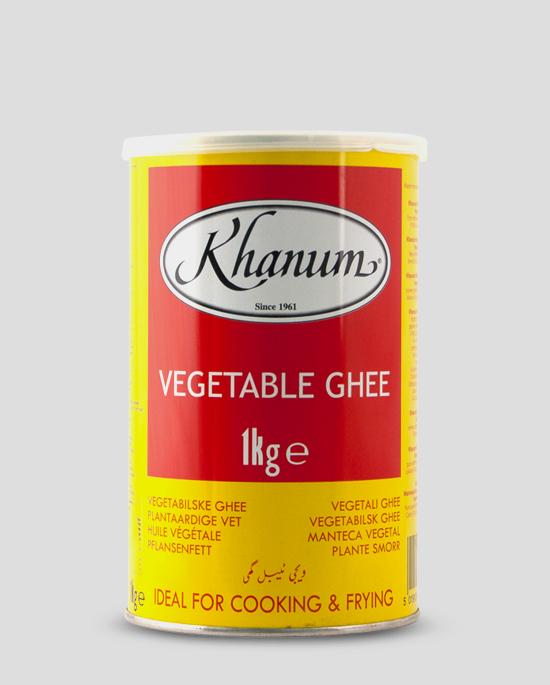 Khanum Vegetable Ghee 1kg, Copyright Spicelands