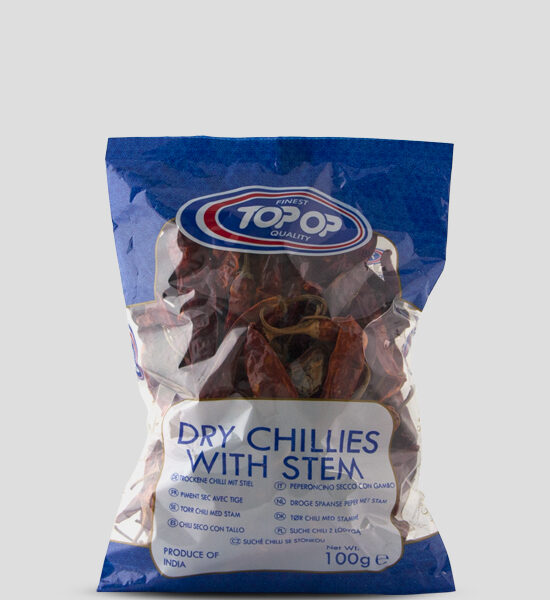 Top Op Dry Chillies with Stem Copyright Spicelands
