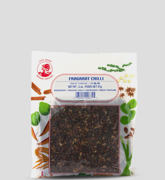 Cock Fragrant Chilli 57g, Copyright Spicelands