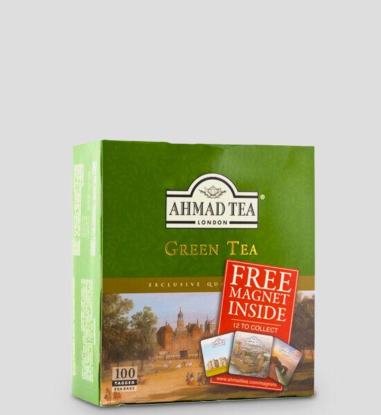 Ahmad Tea Green Tea, 100 Teebeutel, Copyright Spicelands