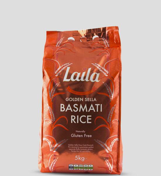 Laila Golden Sella Basmati Reis 5kg, Copyright Spicelands