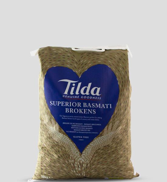 Tilda Bruchreis 10kg, Tilda Broken Basmati Rice 10kg, Copyright Spicelands