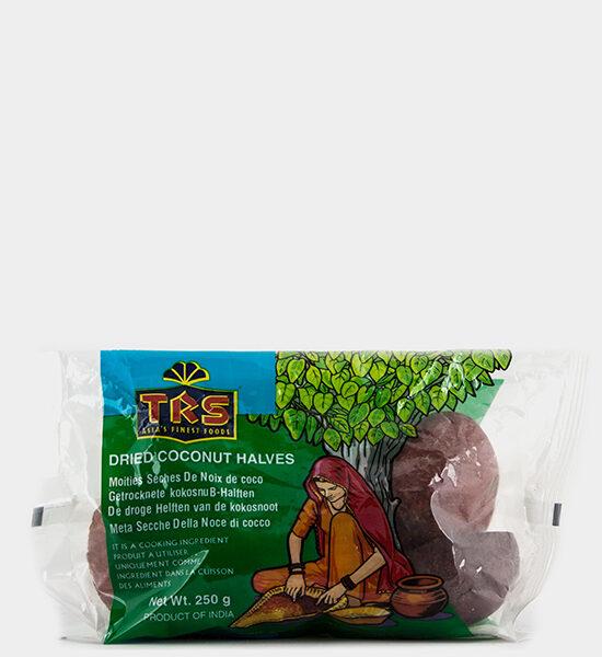TRS Dried Coconut Halves, 250 Spicelands