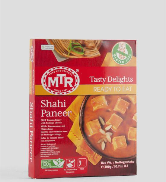 MTR, Shahi Paneer, Milde Tomatensoße mit Hüttenkäse, 300g, Spicelands