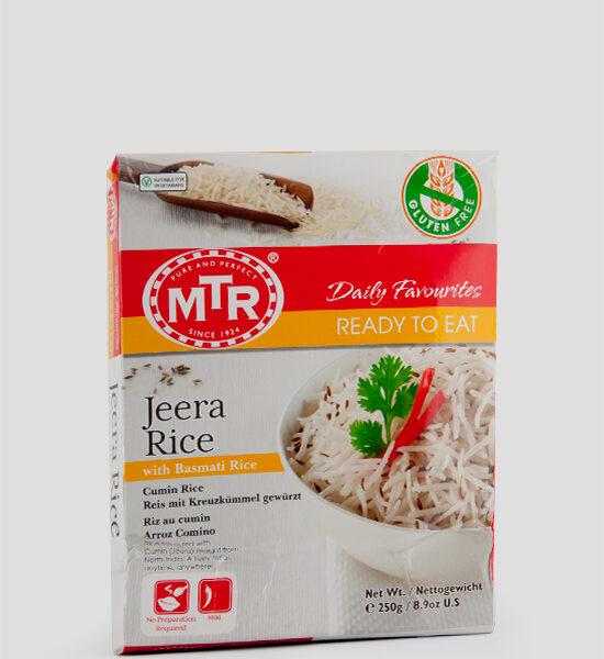 MTR, Jeera Rice, 250g, Spicelands