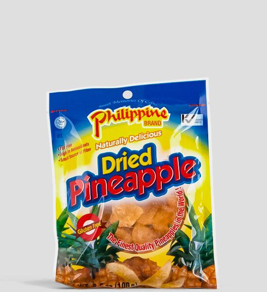 Getrocknete Ananas, Dried Pineapple, 100g, Spicelands