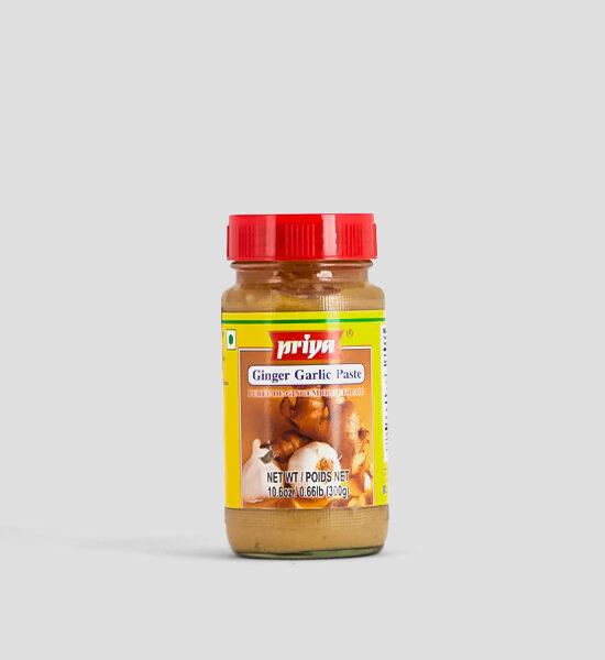Priya, Ginger + Garlic Paste, 300g, Spicelands