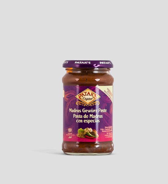 Pataks, Madras Curry Paste, 283g, Spicelands
