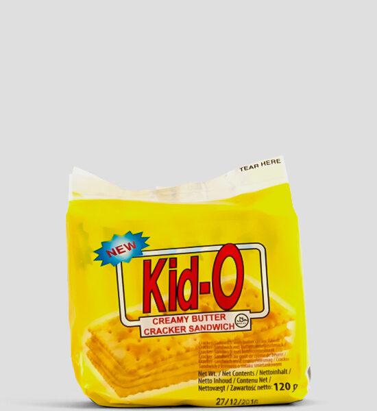 Kid-o Buttercreme Cracker 120g Produktbeschreibung Kid-O Cracker mit Buttercremegeschmack- jetzt hier erhältlich