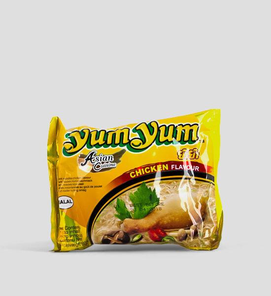 Yum Yum, Huhn, Chicken, 60g Produktbeschreibung HALAL Instant Nudeln mit Huhn, Spicelands