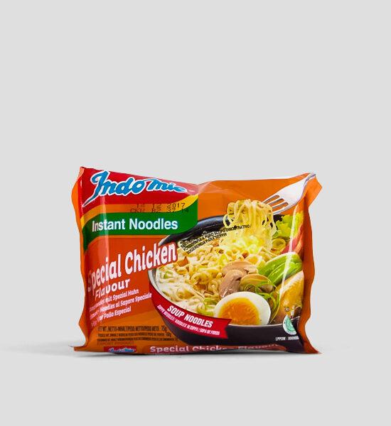Indomie, Special Huhn, 75g Produktbeschreibung HALAL Instant Nudeln mit Huhn, Spicelands