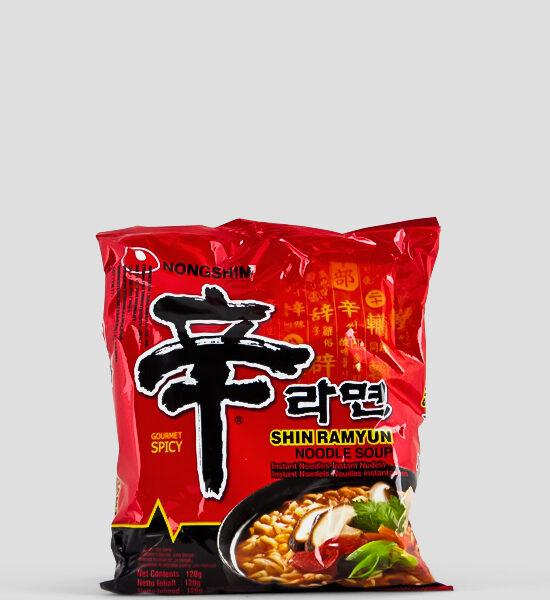 Nongshim, Shin Ramyun, 120g Produktbeschreibung Instant Nudeln Spicy