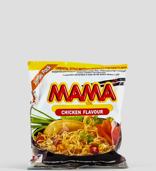 Mama, Huhn Jumbo, Chicken Jumbo, 90g Produktbeschreibung Instant Nudeln mit Huhn Jumbo Packung, 90g, Spicelands