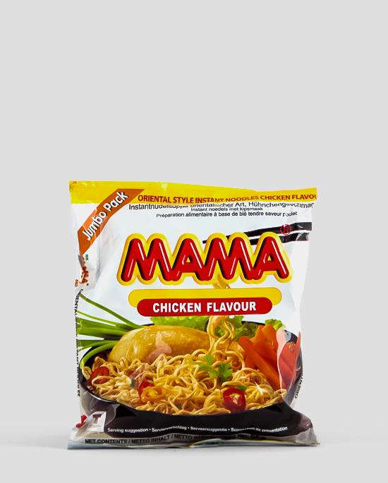 Mama, Huhn Jumbo, Chicken Jumbo, 90g Produktbeschreibung Instant Nudeln mit Huhn Jumbo Packung, 90g, Spicelands