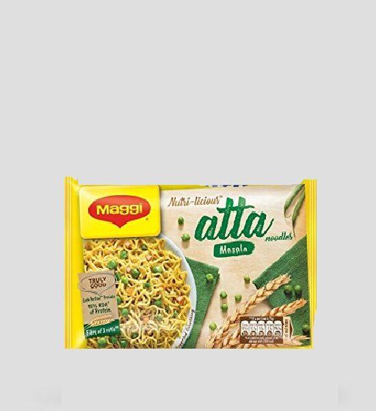 Maggi, Instant Nudeln, Atta Masala, 75g Produktbeschreibung Instant Vollkorn Nudeln mit Masala Geschmack, Spicelands
