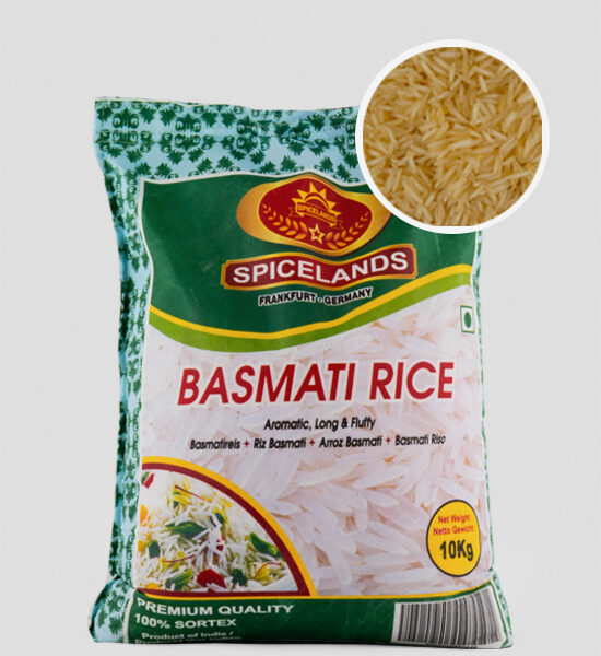 Spicelands extra Long Basmati Rice 10kg