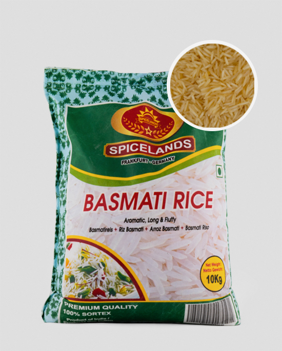 Spicelands extra Long Basmati Rice 10kg