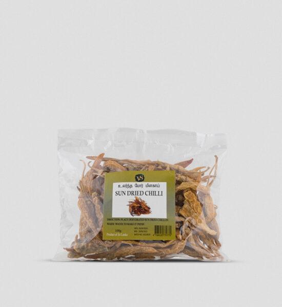 VS Sun Dried Chilli 100g Spicelands