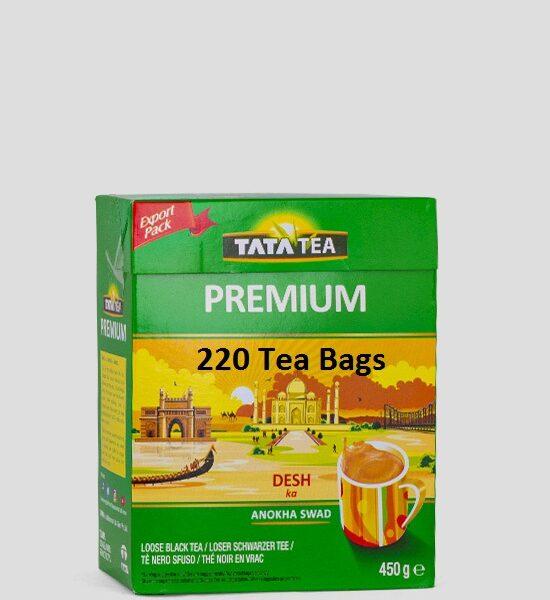 Tata Tea Premium 220 Tee Beutel 638g