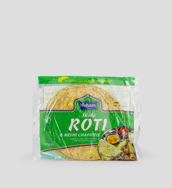 Nishaan Methi Roti Chapatti 350g