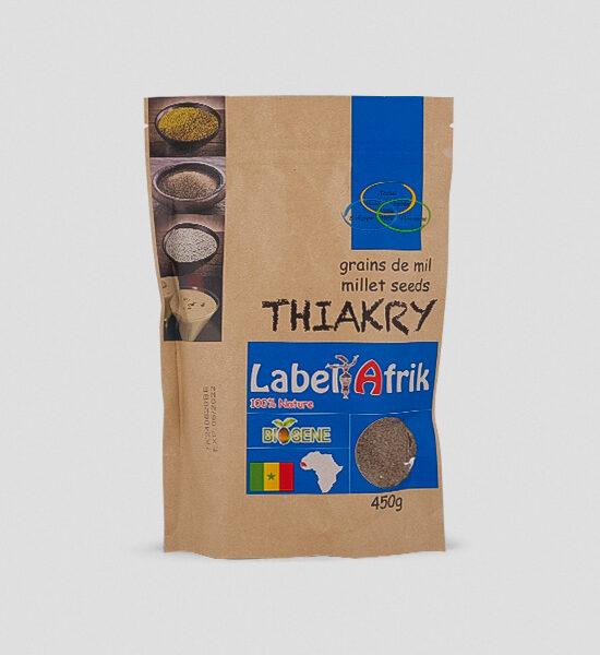 Label Afrik Thiakry Hirse 450g