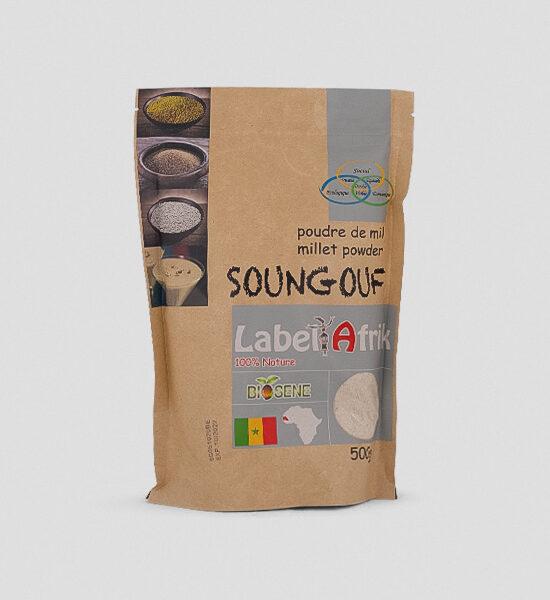 Label Afrik Soungouf Hirse Millet 500g