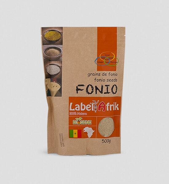 Label Afrik Fonio Samen 500g