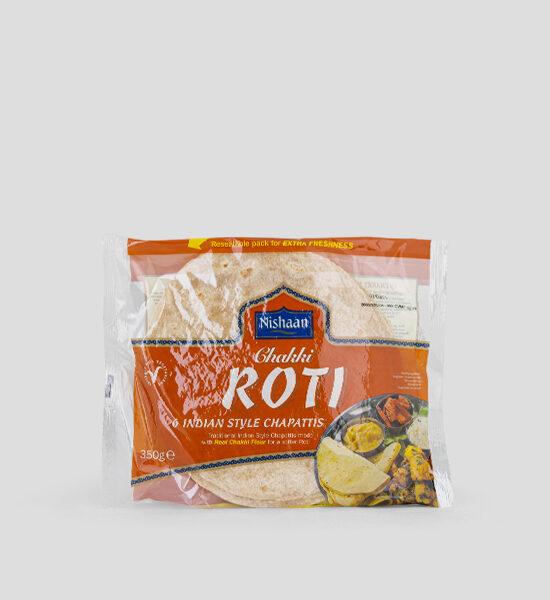 Nishaan Chakki Roti Chapattis 350g
