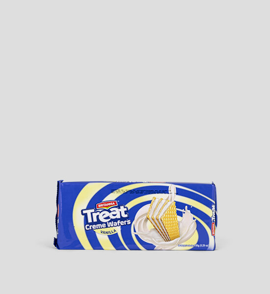 Britannia Treat Creme Wafers Vanilla 150g