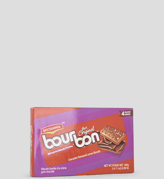 Britannia Bourbon Chocolate flavoured creme Biscuits 400g