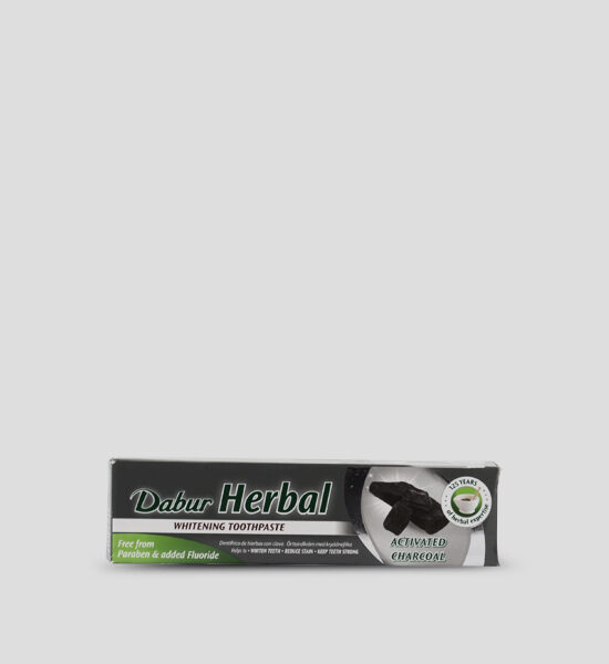 Dabur Herbal Activated Charcoal Whitening Toothpaste 100ml