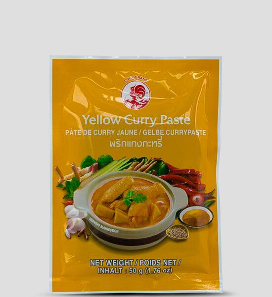 Cock Gelbe Currypaste 50g