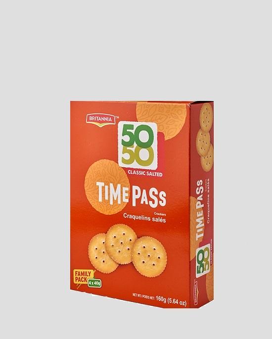 Britannia Timepass Crackers 160g