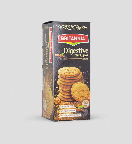Britannia Digestive Black Seed Biscuits 350g