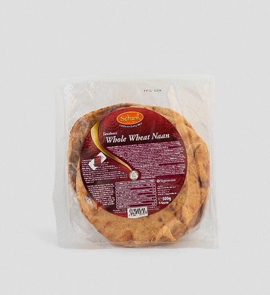 Schani Tandoori Whole Wheat Naan 500g