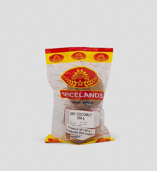 Spicelands getrocknete Kokosnuss (Nariyal) 250g