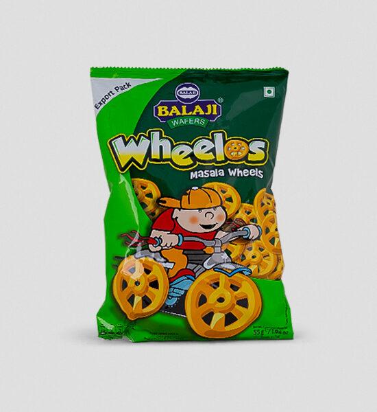 Balaji Wheelos Masala Wheels 55g