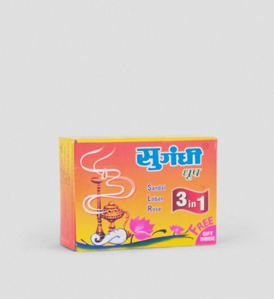 Sugandhi Dhoop 3 in 1