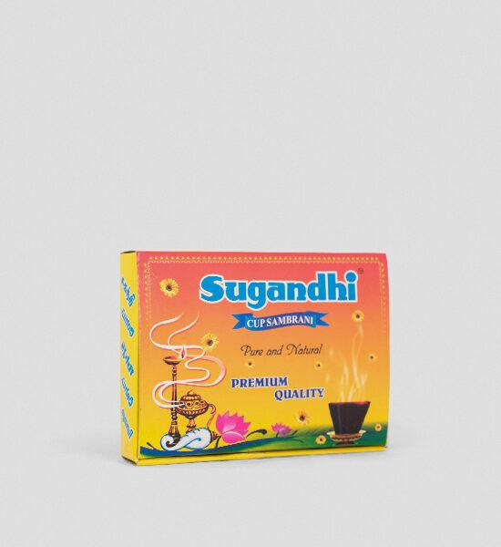 Sugandhi Cup Sambrani 12 Stück