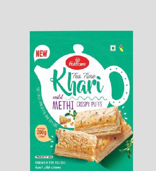 Haldirams Tea Time Khari Methi