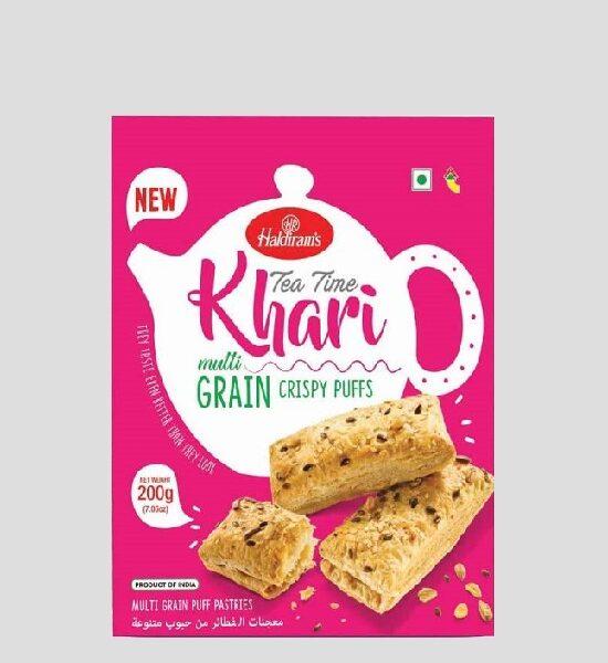 Haldirams Tea Time Khari Multigrain 200g